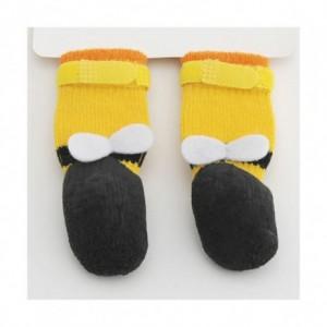 나리 키리 펫쯔 꿀벌 무늬 맞는 신발 3S