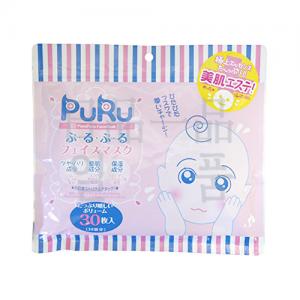 푸루푸루 페이스 마스크 30매입