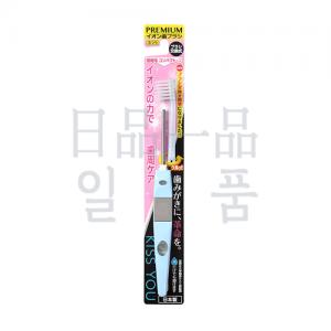 KISS YOU 음이온 칫솔 극세 컴팩트 본체 블루
