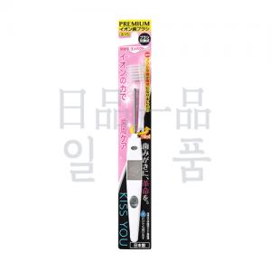 KISS YOU 음이온 칫솔 극세 컴팩트 본체 화이트