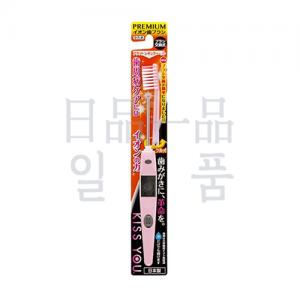 KISS YOU 음이온 칫솔 플랫 레귤러 본체 핑크