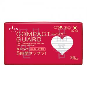 엘리스 컴팩트 가드 가벼운 낮 일반형 17cm 36매입