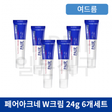 페어아크네 크림 W 24g 6개세트 (medical pairacne cream W 24g lion)
