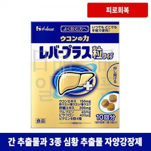 우콘노치카라 레버 플러스 심황 입자 타입 10봉입