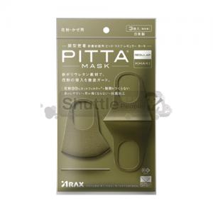 피타 마스크 레귤러 카키 3매입