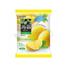 오리히로 푸룬토 곤약젤리 파우치 레몬맛 6개입