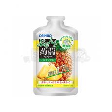 오리히로 푸룬토 곤약젤리 파우치 샷 파인애플 맛 100g