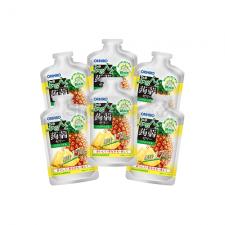 오리히로 푸룬토 곤약젤리 파우치 샷 파인애플 맛 100g 6개세트