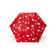 [산리오]헬로키티 접는 우산 (애플)