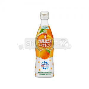 칼피스 직접재배 오렌지 플라스틱 보틀 470ml