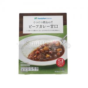 [패밀리마트]보글보글 끓인 비프카레 단맛