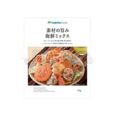 [패밀리마트]재료의 감칠맛 해물 믹스