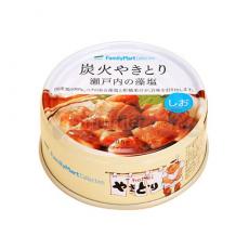 [패밀리마트]숯불 야키토리 세토우치 소금 소금맛