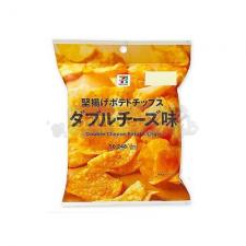 [세븐일레븐]가타아게 포테이토칩 더블 치즈맛 50g