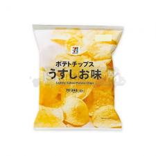 [세븐일레븐]감자칩 옅은 소금맛 70g